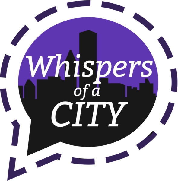 Whispers of a city logo